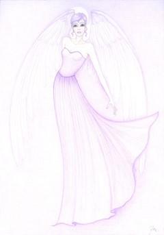 Anděl druhy fial